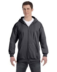 Hanes Adult 9.7 oz. Ultimate Cotton® 90/10 Full-Zip Hood