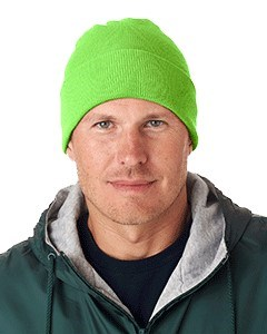 UltraClub Adult Knit Beanie with Cuff